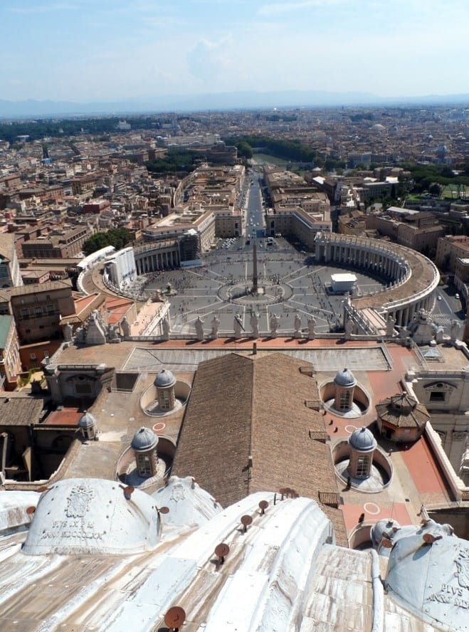 voyager a rome pas cher