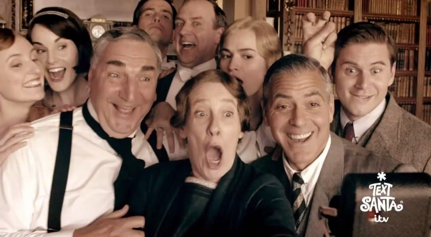Downton Abbey perd la boule pour Noël !