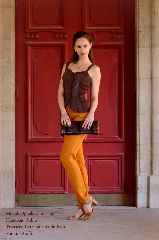 Beautiful Pantalon moutarde pour une soirée chic et pétillante XD65