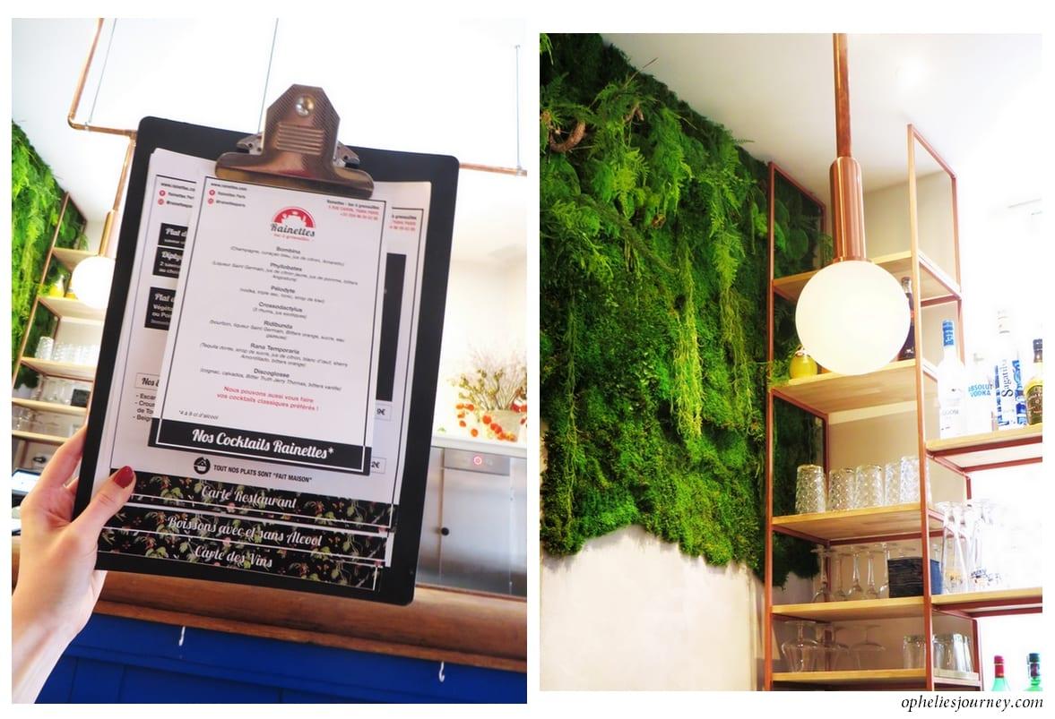 Rainettes restaurant avis