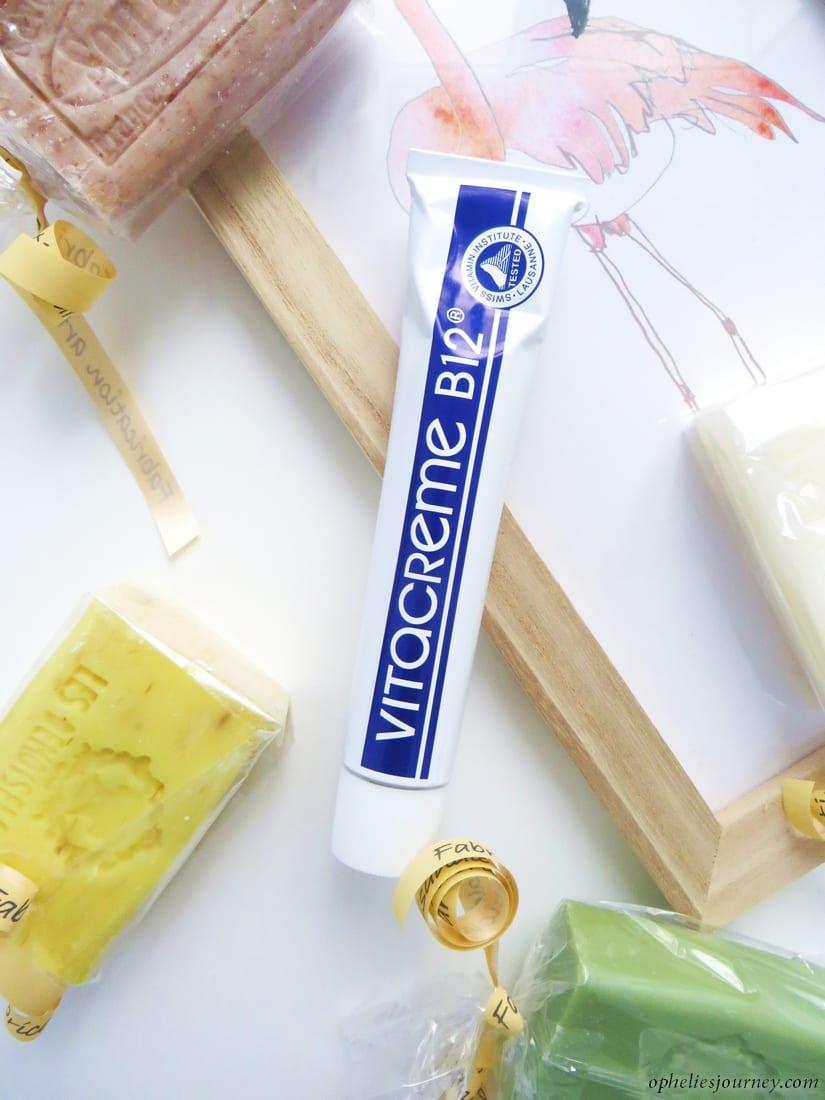Les soins Vitacrème B12 à la rescousse de votre peau