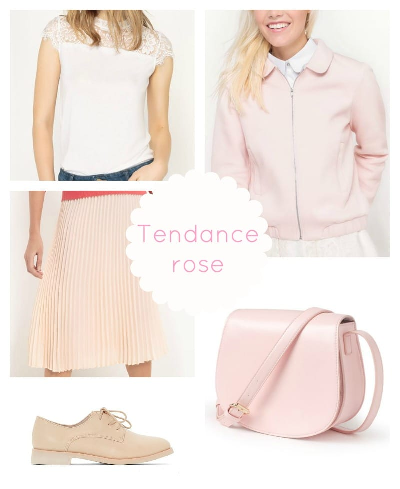 Rose couleur tendance 2017