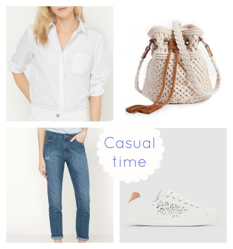 Look casual printemps