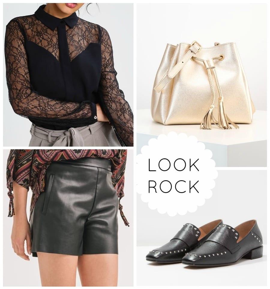 Style rock femme
