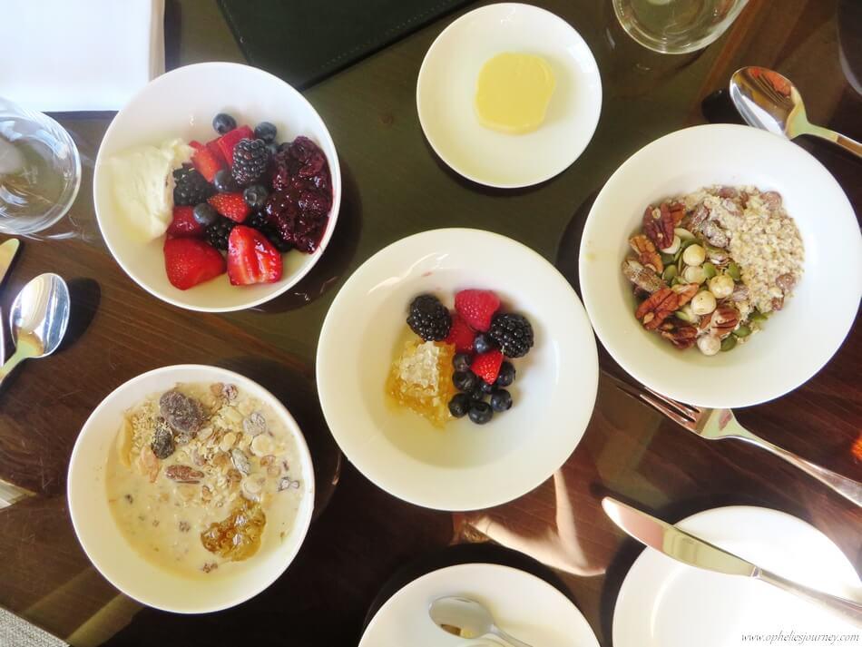 Stoke Park breakfast