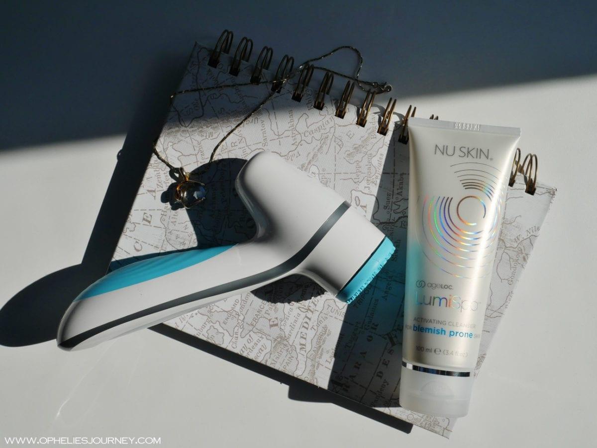LumiSpa : mon avis sur cette brosse nettoyante visage en silicone