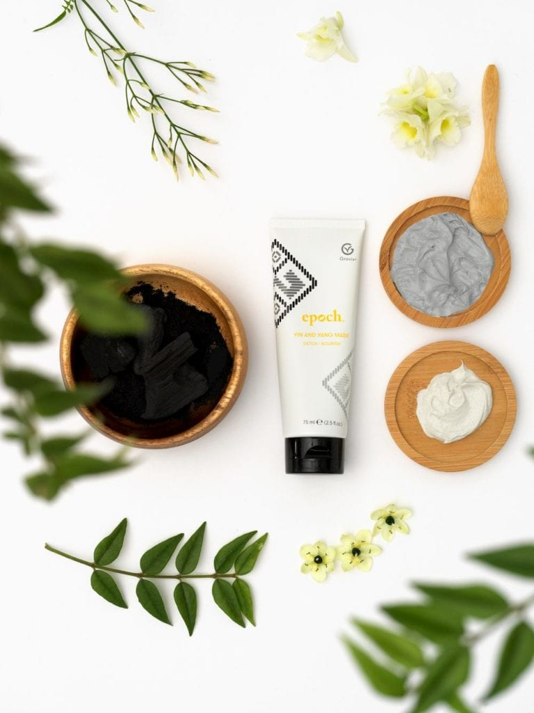 Yin and Yang Mask Nu Skin
